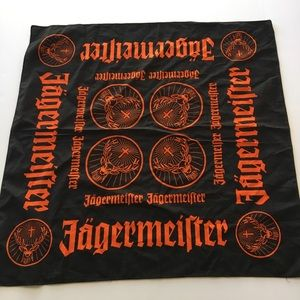 Jermeister Logo Orange Black 100% Cotton Bandanna